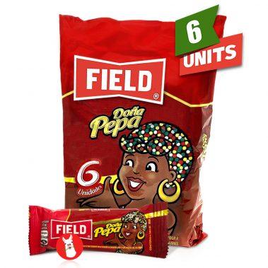 Chocolate Flavor Cookies Dona Pepa Field 6 units of 23 g