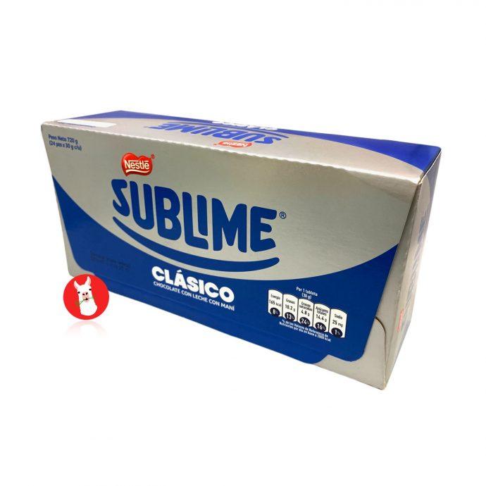 Sublime Classic chocolate box 24 units box