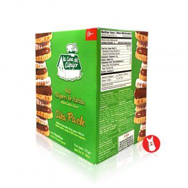 Alfajor Filled Cookies Flour Box of 40 units