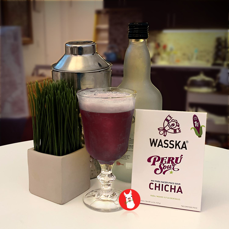 Wasska Chicha morada in home