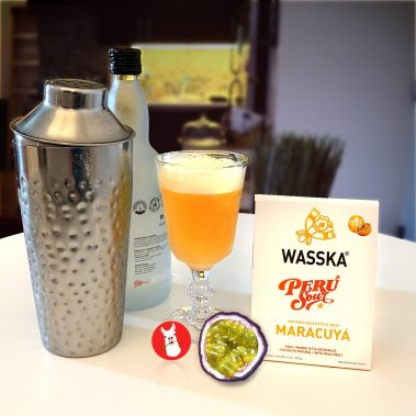 Wasska Maracuya Pisco Sour Mix