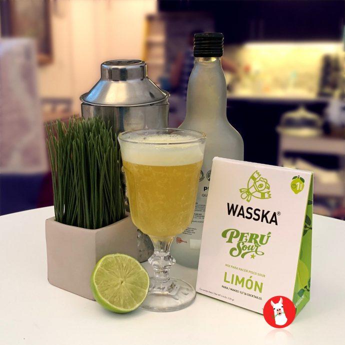 Wasska Limon Pisco Sour Mix