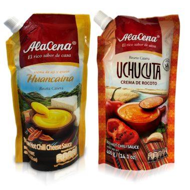 Alacena Crema Huancaina & Crema de Rocoto Uchucuta Combo