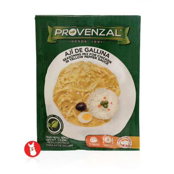 Provenzal Ají de Gallina Seasoning Mix