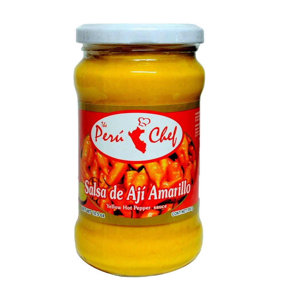 PeruChef Aji Amarillo Sauce 10.5 Oz