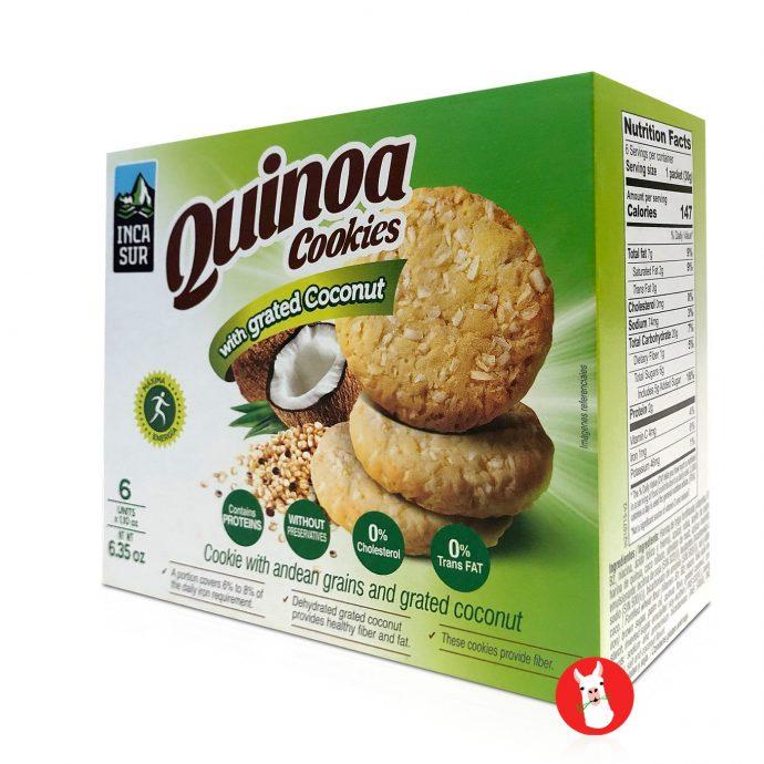 Inca Sur Quinoa Cookie With Grated Coconut