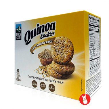 Inca Sur Quinoa Cookie With Sesame Seeds