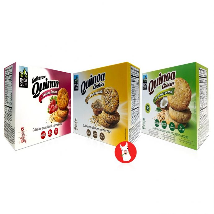 Inca Sur Quinoa Cookies Combo