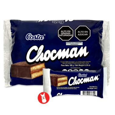 Costa Chocman Peruvian Cookies 6 Units