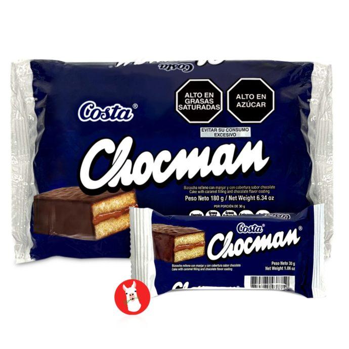 Costa Chocman Peruvian Cookies 6 Units