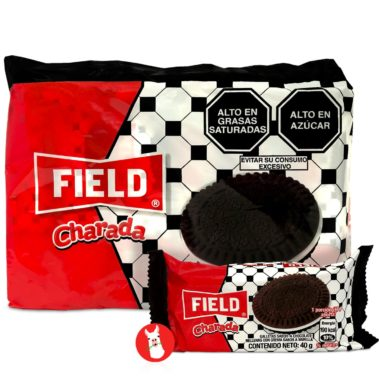 Field Charada Cookies 6 units Bags
