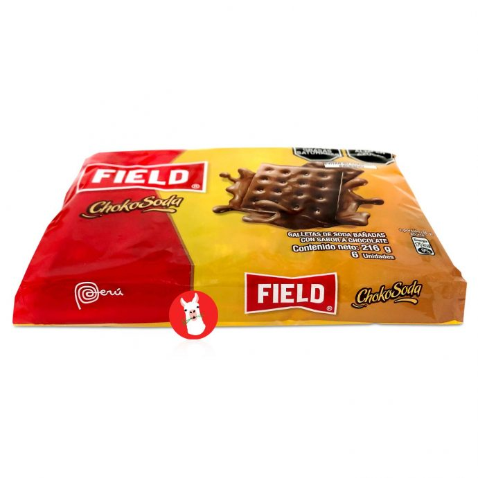 Field Chokosoda Cookies 6 units bag