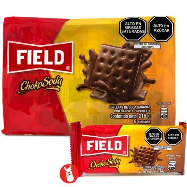 Field Chokosoda Cookies 6 units