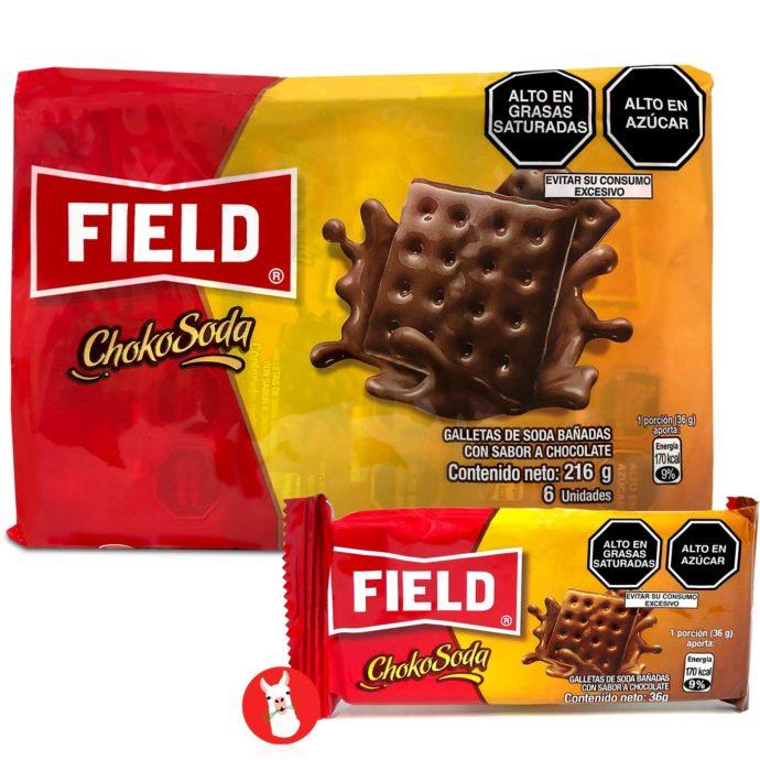 Field Chokosoda Cookies 6 units