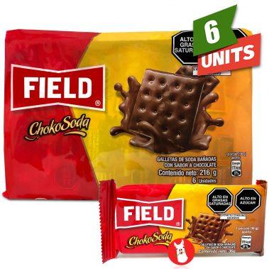 Field Chokosoda Cookies 6 units with single unit
