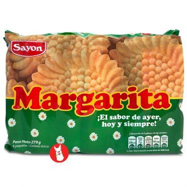 Sayon Galletas Margarita 6 Pack Bag