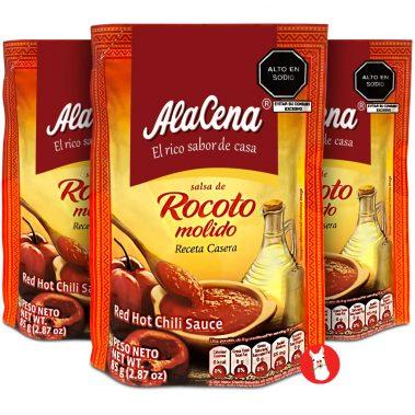 Alacena Mini Salsa de Rocoto Molido 3 Pack