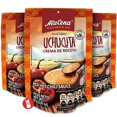 Alacena Mini Uchucuta Crema Rocoto 3 Pack
