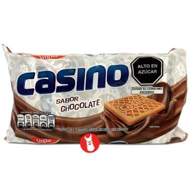 Victoria Galletas Casino Crema Sabor Chocolate