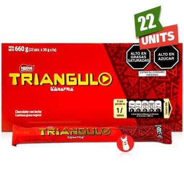 Nestle D'onofrio Chocolate Triangulo with single unit